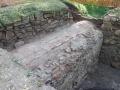 Dio kanala otkrivenoga uz ugao jugozapadne fase i jugoistočne flanke zapadnoga bastiona