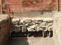 Vanjsko lice zida jugoistočne flanke zapadnoga bastiona
