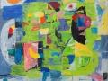 Proljetno sanjarenje, 2009., ulje na platnu, 130 x 138 cm