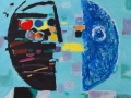 Dvoje, ulje na platnu, 2010., 70 x 90 cm