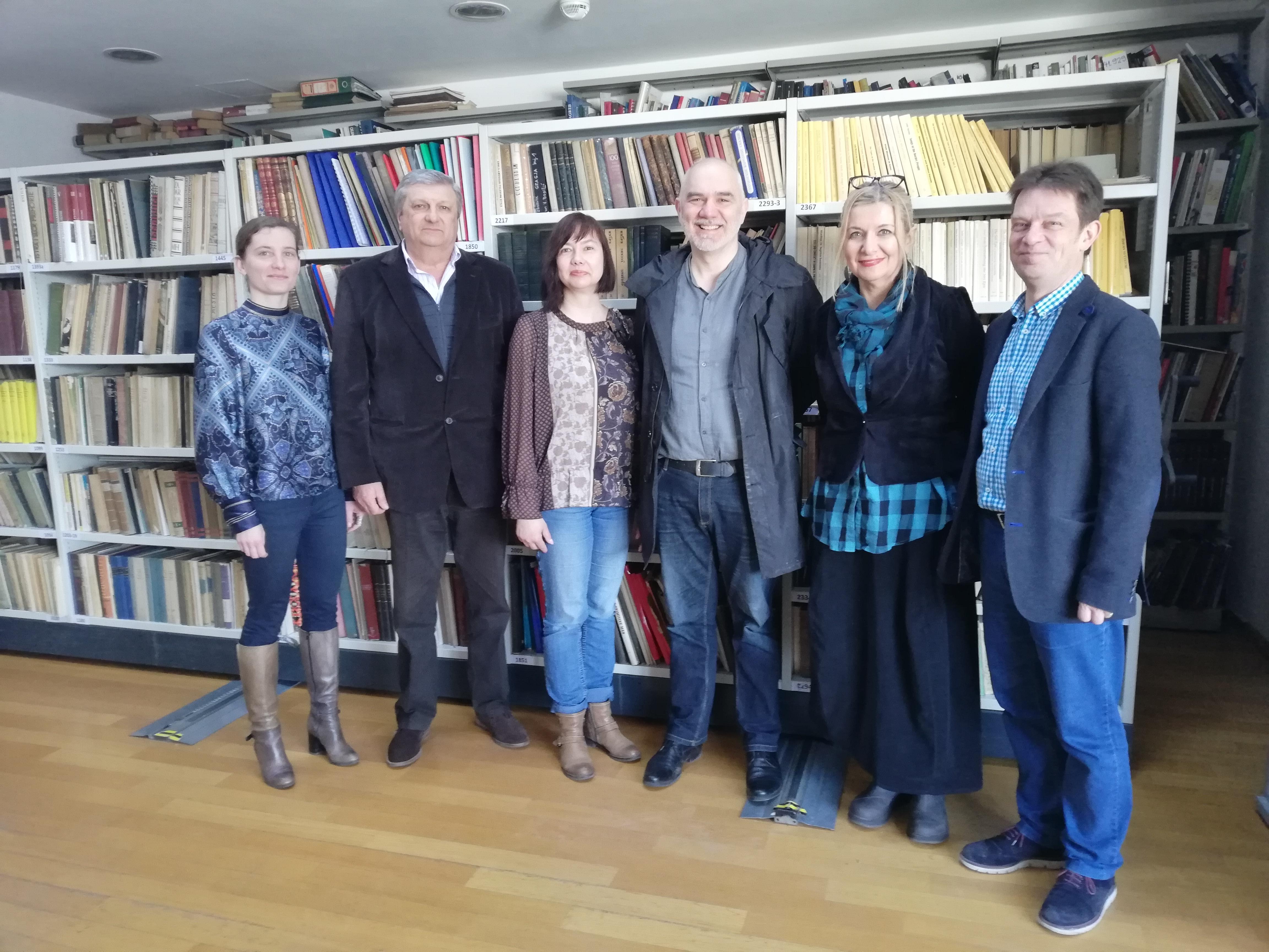 Članovi radne skupine (s desna): Tvrtko Zebec, Lidija Bajuk, Antonio Grgić, Vesna Peršić Kovač, Vinko Horvat, Janja Kovač