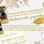 Predstavljanje dokumentarnog filma o međimurskoj popevki - Centar za kulturu Čakovec, srijeda, 19. prosinca u 18 sati