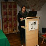 Izlaganje kustosice Ane Šestak na nedavnom znanstvenom skupu u Čakovcu.