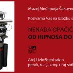 Izložba skulptura Nenada Opačića: Čakovec, Varaždin, Prelog
