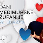 Dani Međimurske županije: 22. - 30. travnja 2019.